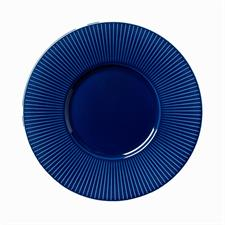 Willow Azure Gourmet Plate Medium Well 28.5cm 11 1/4